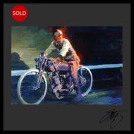Tom Fritz Artist Harley Davidson Art Prints Motorcycle Art Prints Hot Rod Art Prints