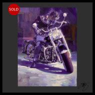 Artist Tom Fritz Harley Davidson Motorcycle Art Prints and Hot Rod Prints